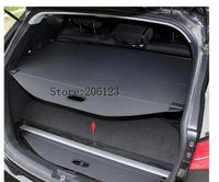 Black Rear Trunk Security Shield Cargo Cover Shade For Fiat Freemont 7 Seat 2009-2015