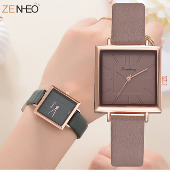 2020 Women fashion Simple Watches Casual Quartz Wrist Watch Multicolor Leather Band New Strap Watch Female Clock reloj mujer best selling women watch popular simple analog leather quartz watches fashion casual luxury woman dress wrist watch reloj mujer