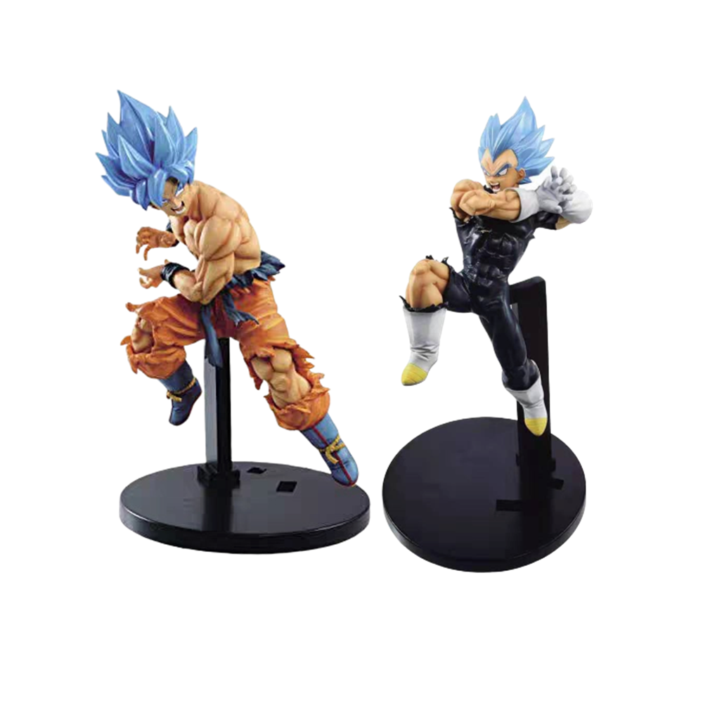 Dragon Ball Z Son Goku VS Vegeta Anime Action Figures Esferas Del DBZ Model PVC Doll Figurine Dragonball Goku Collector Juguetes