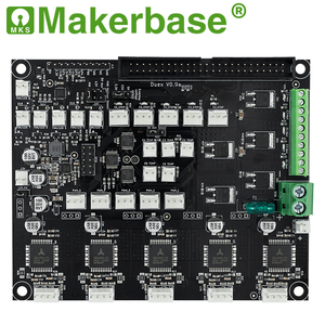 Image 3 - Makerbase 32 bit Cloned duet 2 wifi V1.04 Control Board Duex5 V0.9a  with  4.3 or 7.0 Pandue touch screen for 3d printer parts