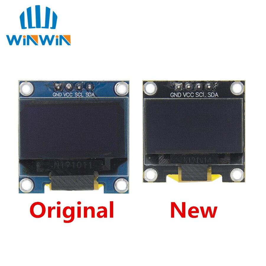 0,96 дюймовый IIC Серийный 4pin белый/синий/желтый OLED дисплей модуль 128X64 12864 плата с ЖК-экраном для arduino oled