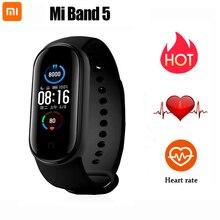 Original Xiaomi Mi Band 5 2020 Smart Bracelet Color Screen Miband Smartband Fitness Traker Sport Heart Rate Monitor Waterproof