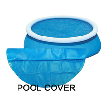 Swimming Pool Cover Suitable Round Swimming Pools New Waterproof Rainproof Dust Cover Tarpaulin Swimming Pool Accessories swimming pool cover spa rainproof dust covers for outdoor swim sports gym cover accessories