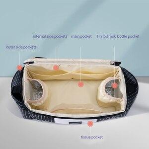 Image 2 - 절연 컵 홀더가있는 Sunveno 유니버설 유모차 주최자, 유모차와 같은 유모차, Britax, 기저귀 베이비 백