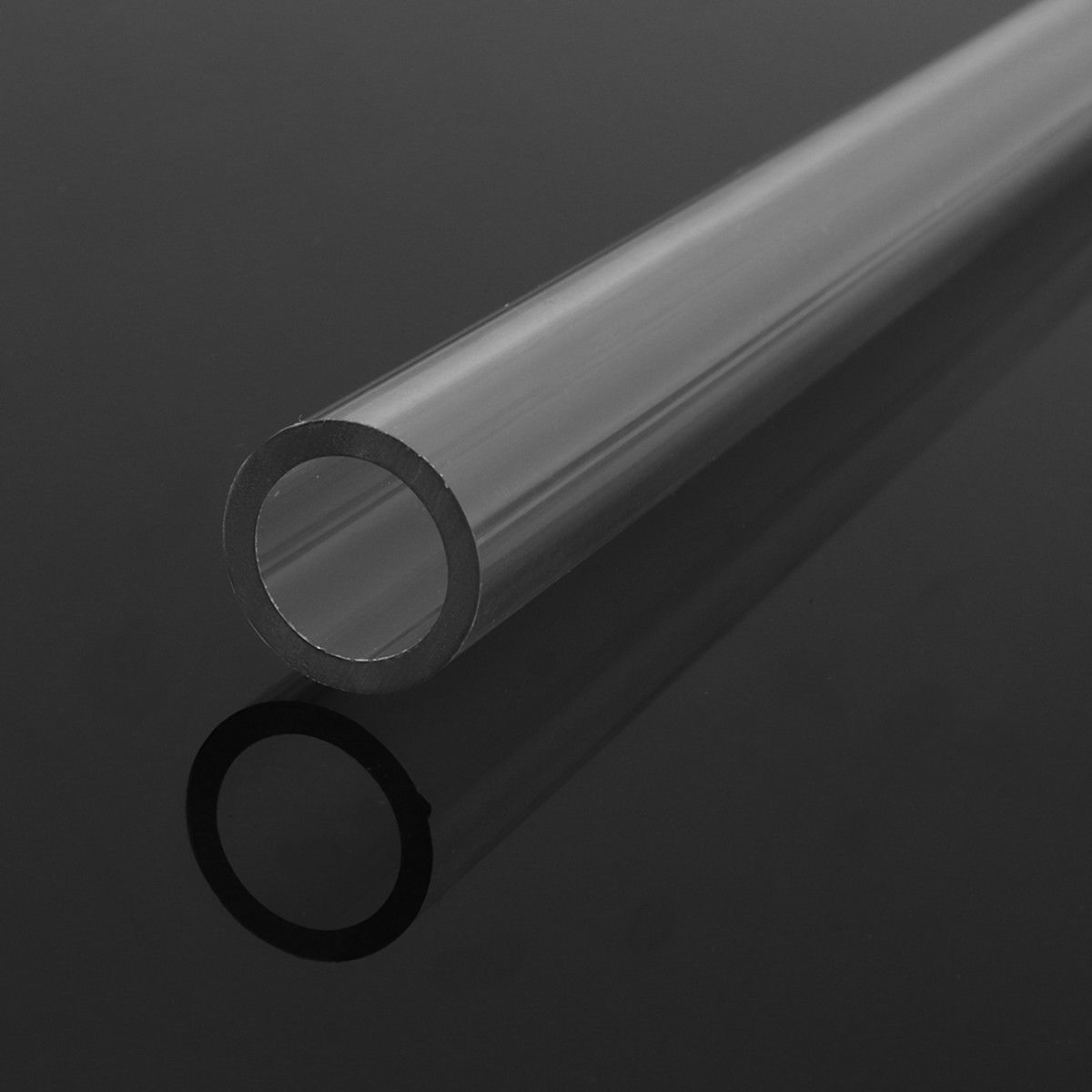 Hard-Tubes Computer Water-Cooling-System Transparent Clear for 4pcs 50CM Hose Tubing