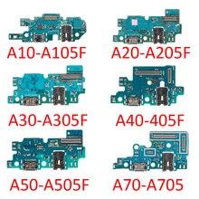 Voor Samsung Galaxy A10 A20 A30 A40 A50 A60 A70 A80 A90 A305 A405 A505 A605 A705 Usb Opladen Lader dock Port Connector Flex