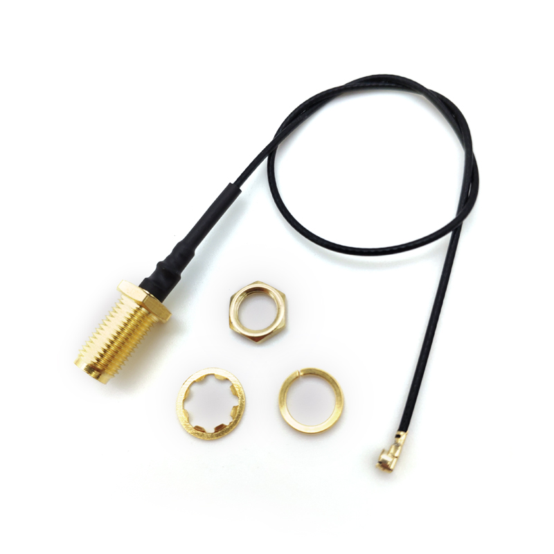 20CM SMA Straight JACK TO IPEX FEMALE connector RF Pigtail cable uFL/u.FL/IPX Antenna adapter wire for WIFI/GSM/GPS 1.13mm(China)