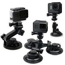 RuigPro Car Suction Cup Adaptorกระจกหน้าต่างขาตั้งกล้องสำหรับGopro Hero 9 8 7 6 5 4For Sjcam Xiaomi Yiอุปกรณ์เสริมGP61