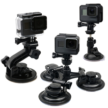 Ruigpro Auto Zuignap Adapter Vensterglas Statief Voor Gopro Hero 9 8 7 6 5 4For Sjcam Xiaomi Yi actie Camera Accessoires GP61