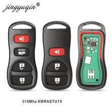 Mando a distancia jingyuqin 10X 3BTN 315Mhz para Nissan Armada Frontier Pathfinder Murano Quest Titan Xterra 2002-2007 llaves originales