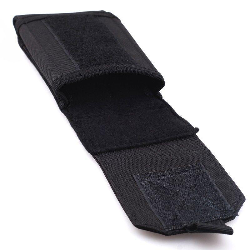 Durable Black Tactical Outdoors Military Mobile Phone Bag Case Holster