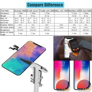 Image 5 - BFOLLOW kopya LCD/OLED iPhone X ekran değiştirme için gerçek ton sayısallaştırıcı ekran meclisi çerçeve mühür