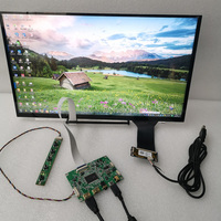 15.6 touch display module for Raspberry Pi monitor display dual HDMI suitable Capacitive 10 point touch USB5V power solution Hi