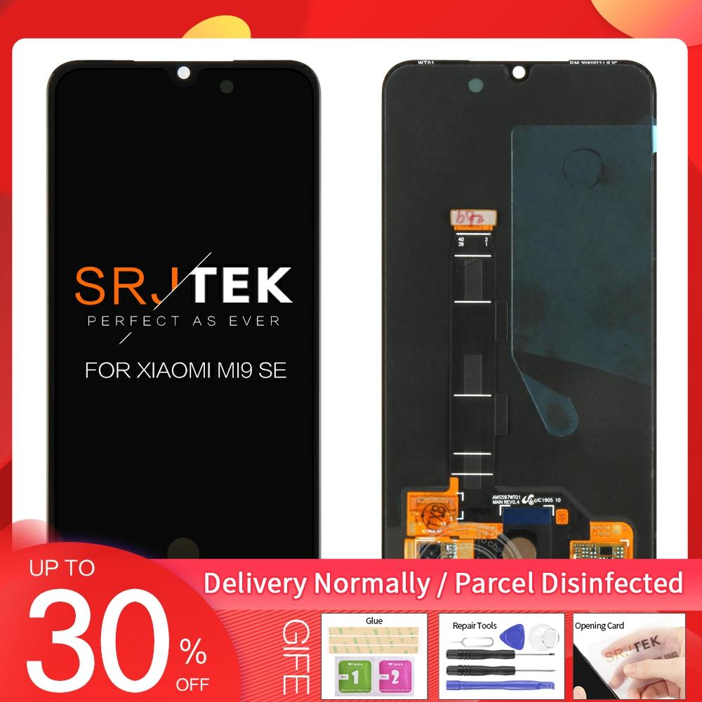 """Global Version Original LCD For XIAOMI Mi 9 SE LCD Display Touch Screen Digitizer Assembly 5.97"""" for Mi9 Mi 9SE Display + Frame"""