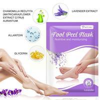 Mascarilla facial blanqueadora para el cuidado de los pies, cubrebocas de piel muerta con olor a lavanda y ácido frutal, modelo F2D3