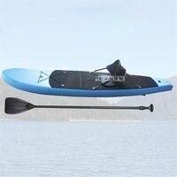 PVC Paddle Board Sup Gonfiabile Paddle Board Bordo Di Yoga PVC Material Maximum Load 120kg Rowing Boats Blue 316 * 75 * 15 cm