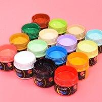 24 cores profissional pintura acrílica à prova ddiy água diy artista pintado pintura de parede sapatos têxteis tintura graffiti desenho mão desenhada