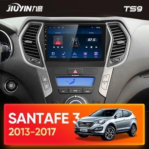 Image 2 - JIUYIN Typ C Auto Radio Multimedia Video Player Navigation GPS Für Hyundai Santa Fe 3 2013   2017 Android Keine 2din 2 din