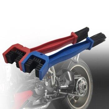 Limpiador de cadena de bicicleta de motocicleta, cepillo de Moto, limpiador de cadena limpio de ciclismo para BMW R1200S R1200ST S1000R S1000RR S1000XR Ducati SS750