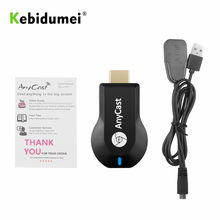Kebidumei m2 plus 1080p tv vara adaptador sem fio wi-fi display receptor dongle para pc telefone para miracast pk g2