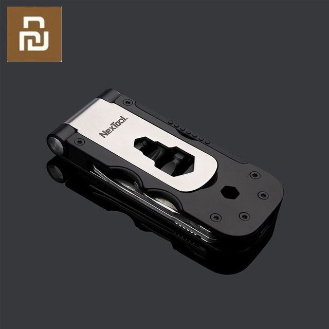 Nextool multi funcional ferramenta de bicicleta manga magnética requintado e portátil ferramenta de reparo de chave ao ar livre
