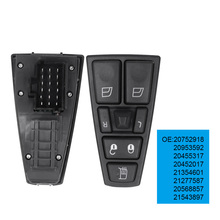 20752918 20953592 20455317 Power Electric Window Switch For VOLVO FH12 FM12 FM9 FH FM VNL 20452017 21354601 21277587 20568857