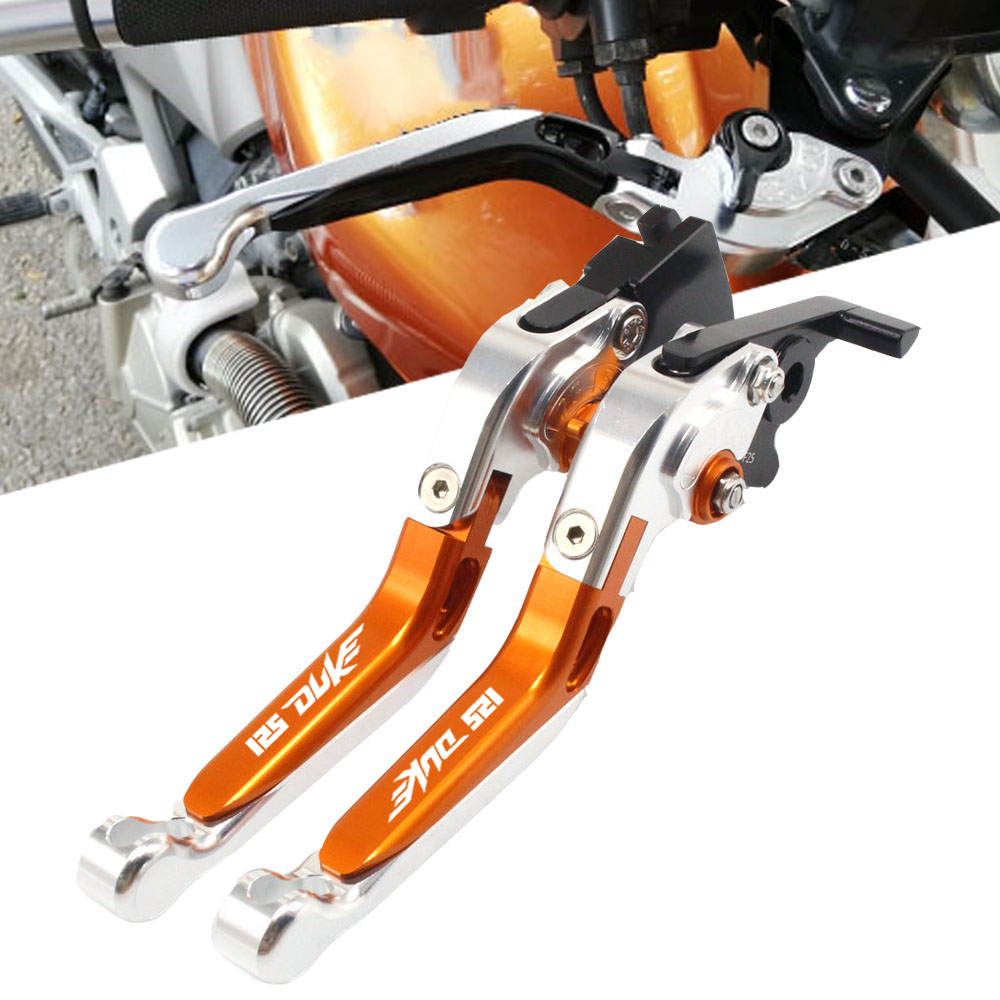 For <font><b>KTM</b></font> 125Duke 125 Duke 125-Duke <font><b>2011</b></font> 2012-2019 CNC Motorcycle Brake Clutch Levers Adjustable Racing Motorcycle Accessories image