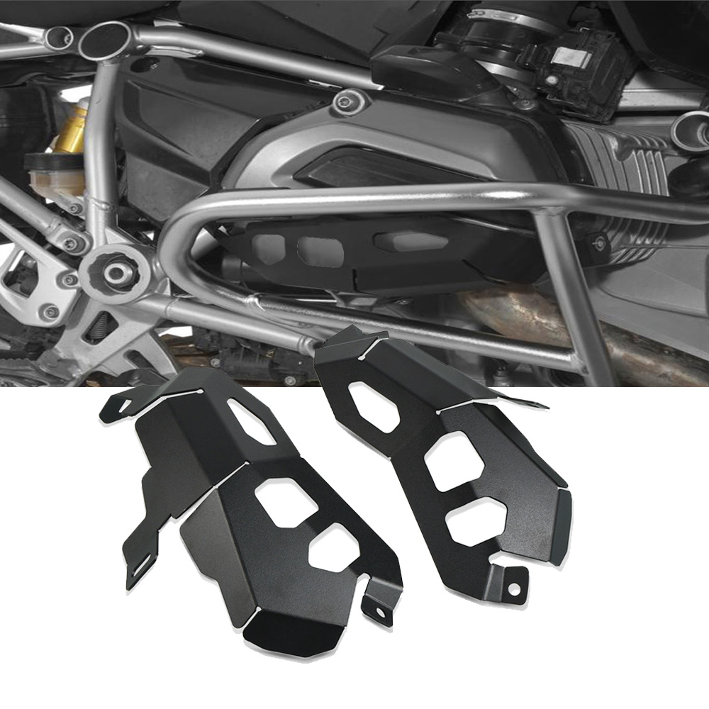 Motorcycle Engine Cylinder Head Valve Cover Guard Protector Motorbike Alternator Cover Guard for <font><b>BMW</b></font> R1200RS R <font><b>1200RS</b></font> R1200 RS image