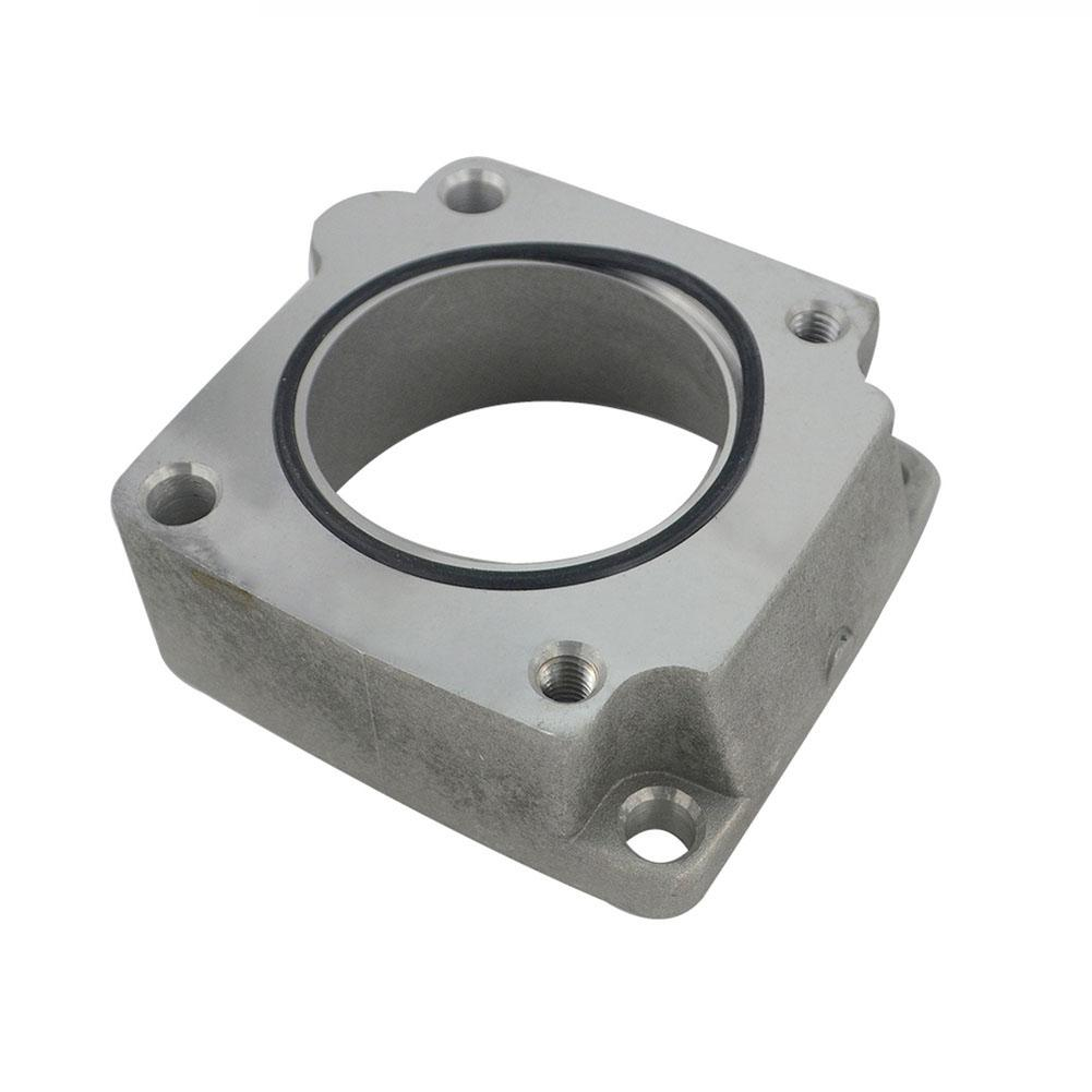 Front Facing <font><b>Intake</b></font> <font><b>Manifold</b></font> Original Car Throttle Body Gasket <font><b>Intake</b></font> <font><b>Manifold</b></font> Pad Height Throttle Washer Skyline R33 <font><b>RB25DET</b></font> image