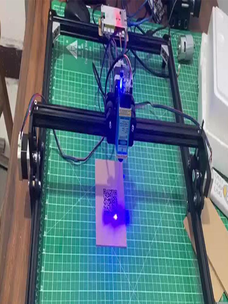 4050 Laser-Engraver-Machine Wood Router Carving Metal Mini Desktop 2-Axis DIY