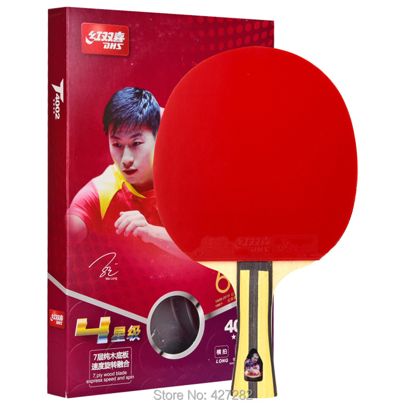 Original New Type In 2019 DHS T3002 T4002 Table Tennis Racket Finished Rackets Racquet Sports Ping Pong Paddles