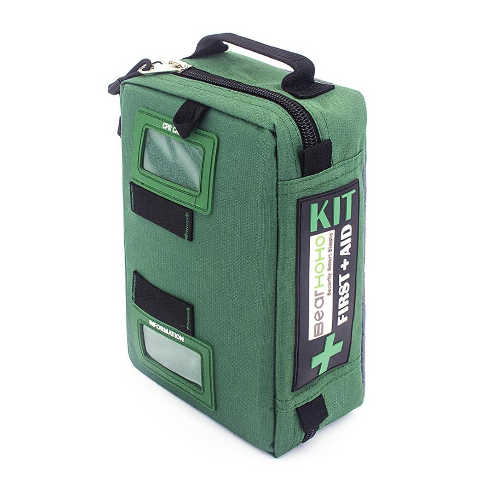 Outdoor First Aid Kit Sports Nylon Waterproof Multi-function Reflective Messenger Bag Family Travel Emergency Medical Kit DJJ045