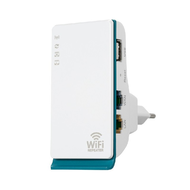 Bảng giá Wireless Repeater WiFi Extender with RJ45 LAN and WAN Port 2.4G Band WiFi Coverage Repeater/AP Mode EU Plug Phong Vũ
