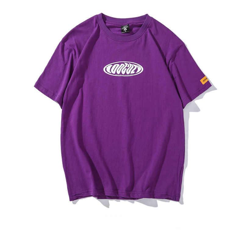 FOJAGANTO Trend Marke Männer Print T-Shirts männer Mode Wilden Kurzarm T Hemd High Street Männlichen Casual T Shirt tops