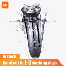Xiaomi Pinjing Men Electric Shaver Razor USB Rechargeable Washable Razor Wireless 3D Smart Control Shaving Beard Machine