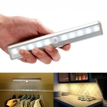 Battery Operated Motion Sensor LED light for Wardrobe