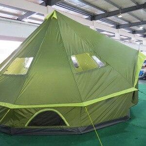 Image 4 - LAPUTA Ultralarge 8 12 Person Waterproof Camping Party Family Tent Namiot Carpas De Camping Party Tent