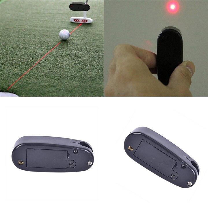 Golf Putter Laser pointeur mettre ligne correcteur améliorer Golf entraînement aides outil Golf apprentissage pratique formateur Golf accessoires