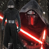 Movie Star Wars The Last Jedi Kylo Ren Cosplay Costume Star Wars The Force Awakens uniform Cosplay Halloween Adult man Costumes