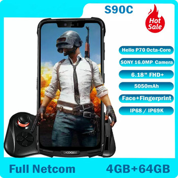 Перейти на Алиэкспресс и купить DOOGEE S90C модульный IP68 прочный мобильный телефон с восьмиядерным процессором 4 Гб 64 Гб 16 Мп + 8 Мп Android 9,0 6,18 дюймов смартфон 5050 мАч Helio P70