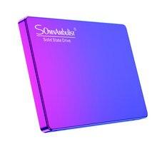 Disque dur SSD en plastique, 120 go, 2.5 pouces, tout-en-un, pour ordinateur portable, ordinateur de bureau