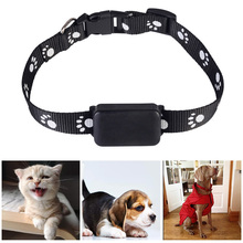 Pet GBS Tracker Collar For Dogs Cats USB Charging Anti-Lost Tracking Device GSM AGPS LBS SOS Monitor
