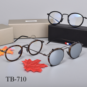 Tom brand Eyeglasses frames or sunglasses men women optiacl eye glasses TB710 clip sunglasses men women with original box brand new in original box philips gc5033 80 azur elite steam iron with optimaltemp technology original brand new