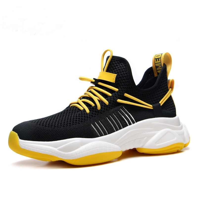 Fire 2019 Sport Running Shoes Men Couple Casual Shoes Men Flats Outdoor Sneakers Mesh Breathable Walking Footwear Sport Trainers