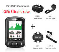 IGPSPORT ANT + GPS ordenador IGS618 bicicleta Bluetooth inalámbrico cronómetro impermeable ciclismo bicicleta sensor de velocímetro ordenador