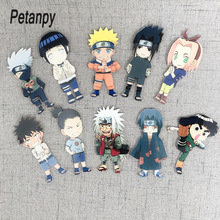 Acrylic Magnetic Stickers Fridge Sticker Naruto Kakashi Characters Magnets Tape Cutehorse Cartoon Series