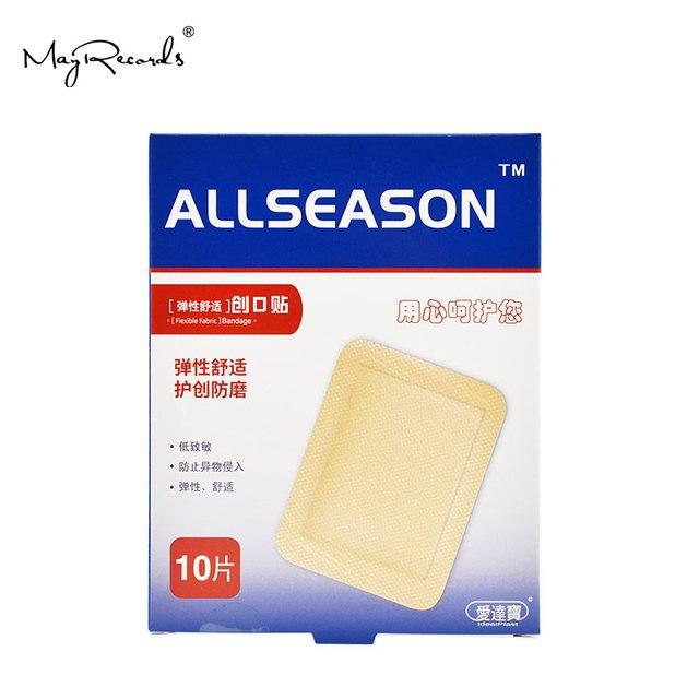 Gratis Verzending Waterdicht Ademend 30Pcs/3 Dozen 7.6cmX10.1cm Grote Band Aid Ehbo Bandages Voor Grote Wonden