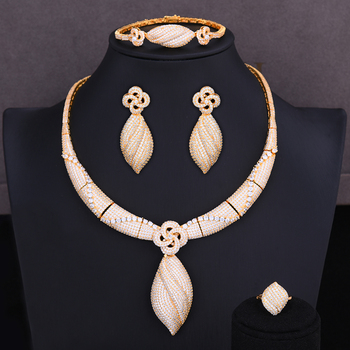 4Pc Choker Jewelry Set 2