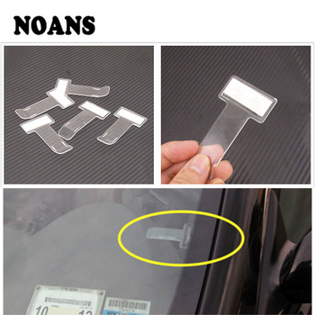Car Window Transparent Ticket Folder Stickers for Peugeot 308 206 307 407 207 208 508 2008 3008 5008 106 Seat Ibiza Leon mk3 mk2 image