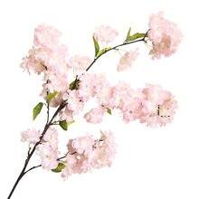 Искусственные цветы, бонсай, свадебное украшение, настенное растение, вишневые цветы, весна, Сакура, сделай сам, украшение, Искусственный Ро...